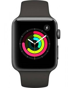 Apple iWatch S3 38mm Price In India