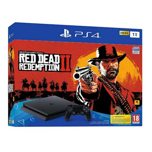 Sony PS4 Console Red Dead