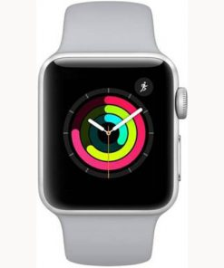 Apple iwatch series 3 on EMI-42mm white band